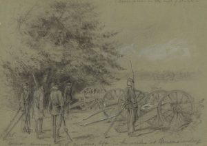Quaker soldiers at Harrison's Landing