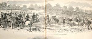 General McClellan reviewing the Troops